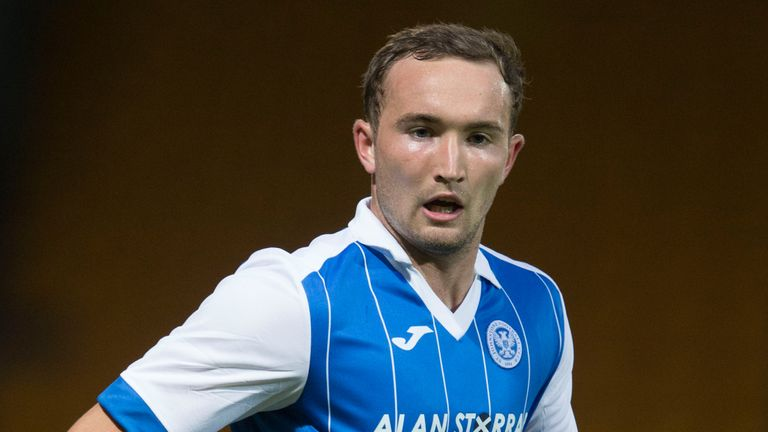 St Johnstone's Chris Kane scored a late equaliser