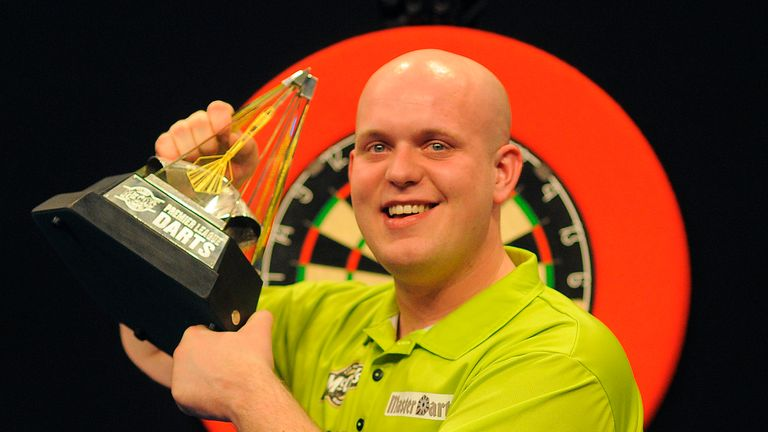Michael van Gerwen is chasing a fourth Premier League title in six years