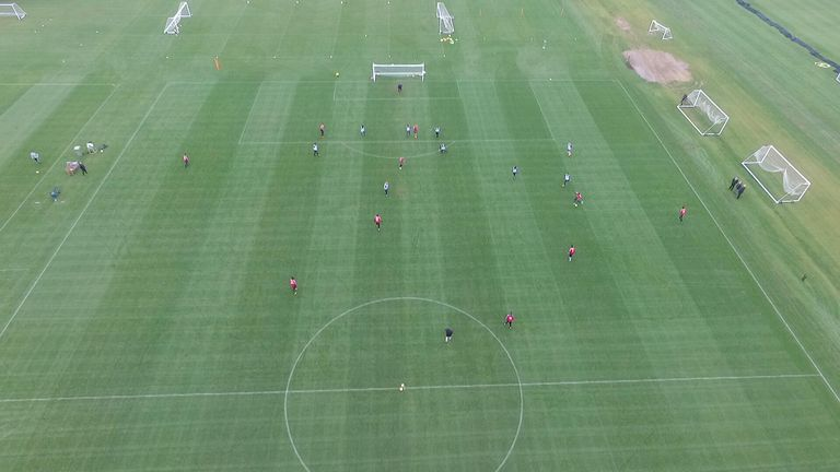 The View From Drone Has Helped Charltons Coaches Analyse Their Teams Play