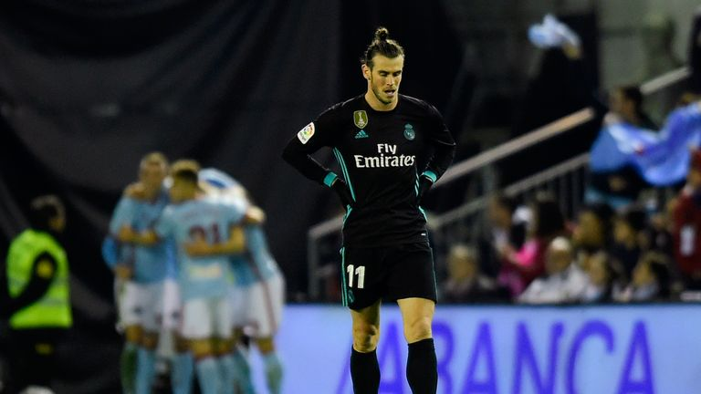 Calf and groin injuries have limited Bale to six La Liga starts this season