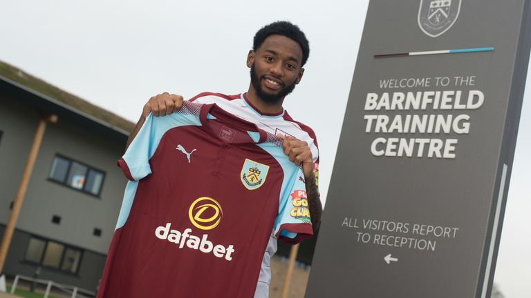 Georges-Kevin Nkoudou is set to make his Burnley debut at Palace this weekend (Burnley FC)