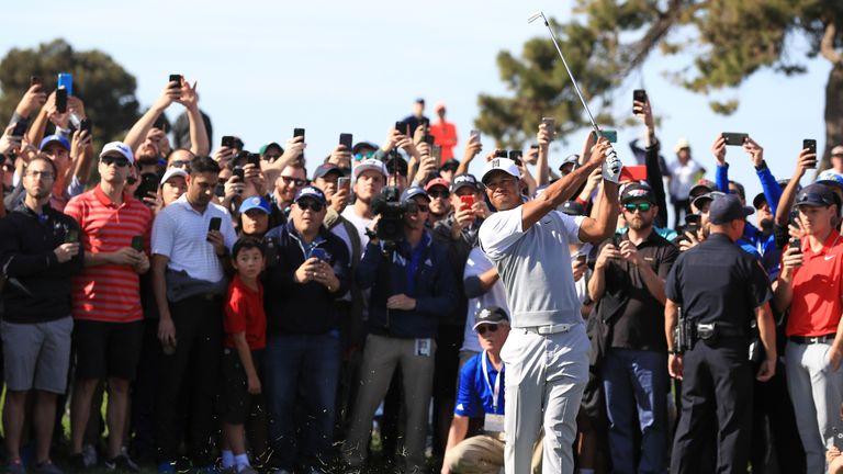Woods shoots even-par 72 in PGA Tour comeback