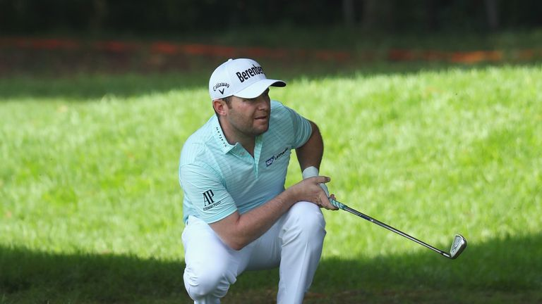 Branden Grace is chasing another title on home soil