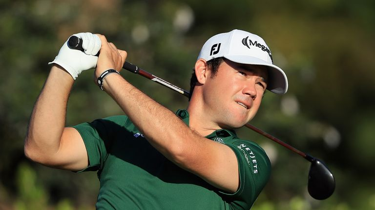 Brian Harman holds a three-shot lead in Hawaii