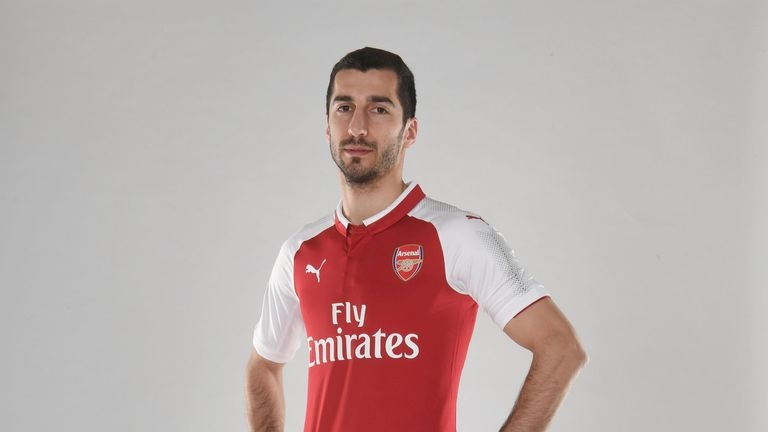 Mkhitaryan is Arsenal's second signing this January