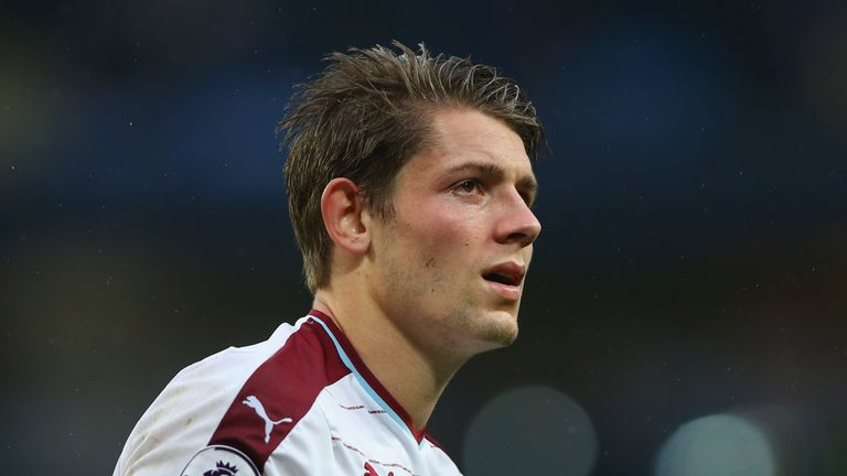 Burnley defender James Tarkowski is eligible to play for both England and Poland