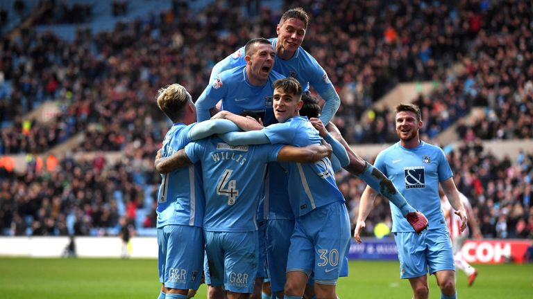 Coventry will take on Notts County