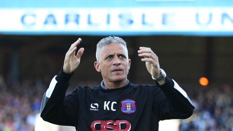 Keith Curle guided Carlisle to an FA Cup third-round replay with Sheffield Wednesday