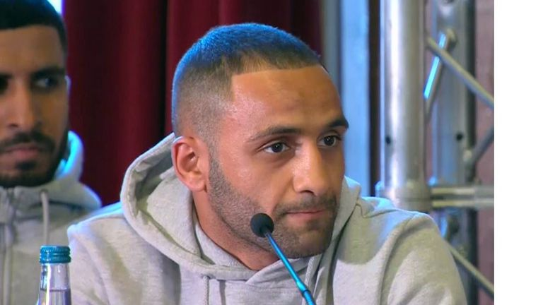 Will Kid Galahad need a mic? We'll find out...