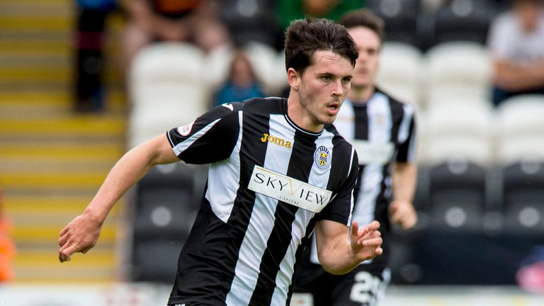 Morgan has scored 13 goals in all competitions for St Mirren this season
