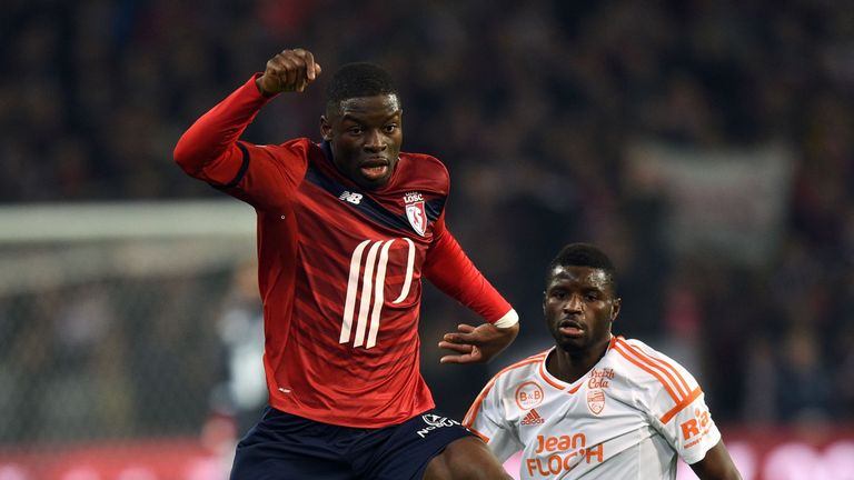Lille defender Adama Soumaoro is believed to be valued in the region of £18m
