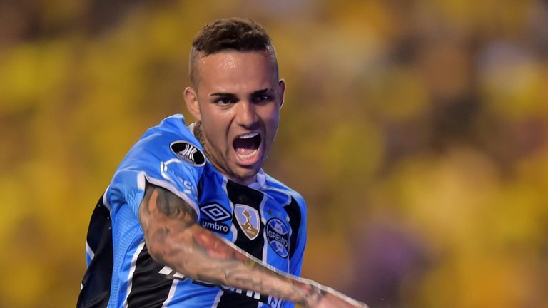 Liverpool linked with star of 2017 Copa Libertadores, Gremio forward Luan