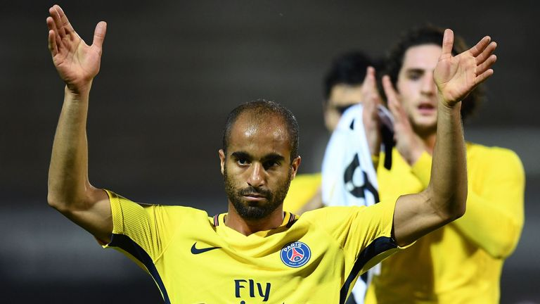 Is Lucas Moura set to leave PSG this month?