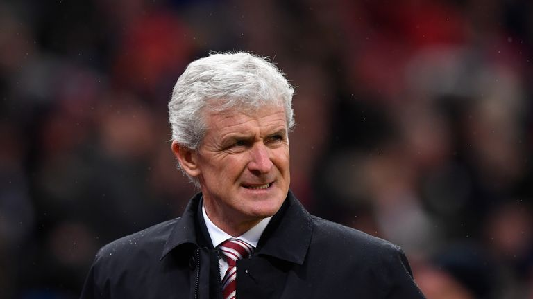 Mark Hughes' Stoke future has been discussed this week