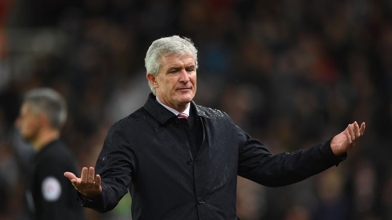 The pressure has cranked up on Mark Hughes