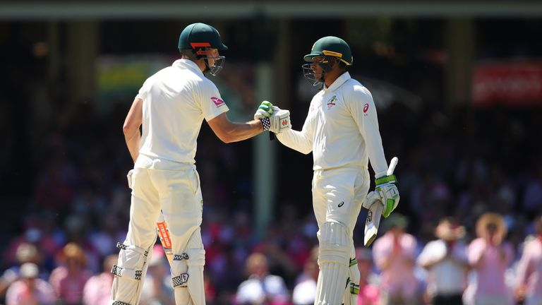 Smith falls but Khawaja ton anchors Australia