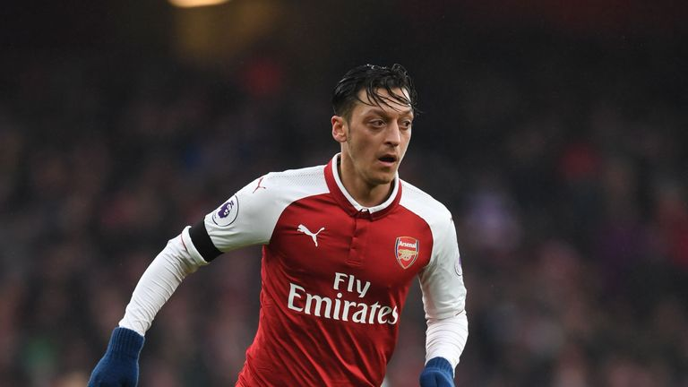 Mesut Ozil was the star of the show as Arsenal beat Crystal Palace