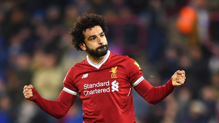 Mohamed Salah scored Liverpool's third from the spot