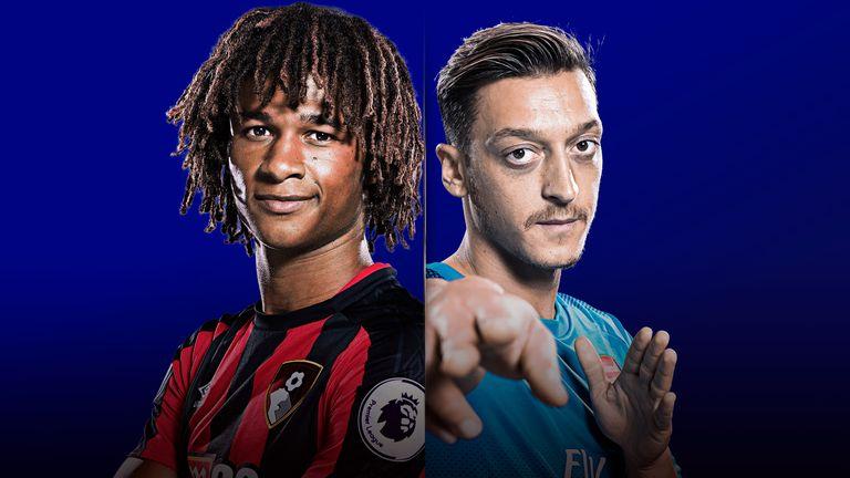 Watch Bournemouth v Arsenal live on Sky Sports
