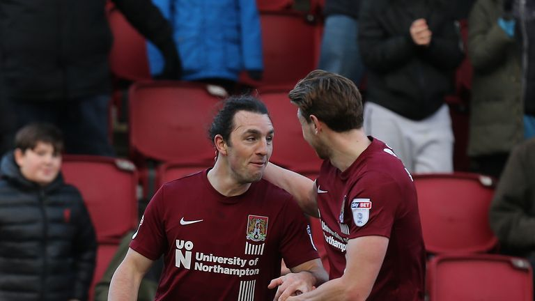 Northampton claimed a vital win over Southend