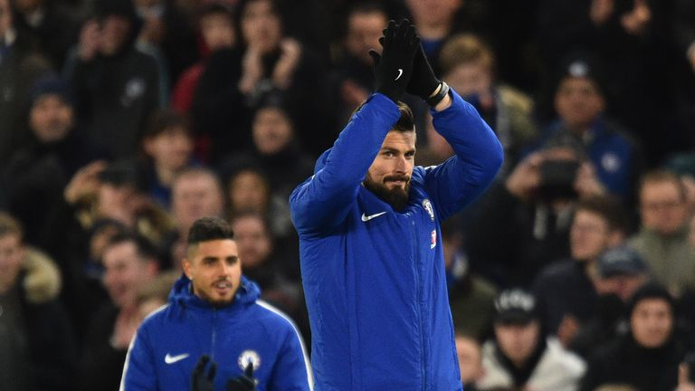 Olivier Giroud has been speaking about his Deadline Day move to Chelsea
