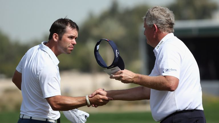Casey insist he has no issues with Colin Montgomerie