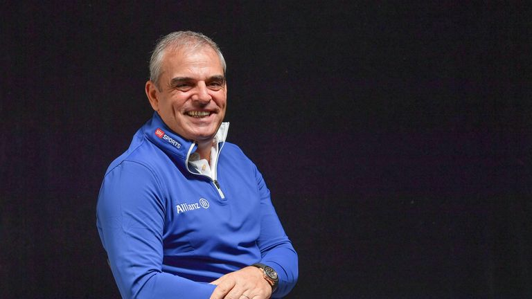 Paul McGinley will give a key note speech on his experience of leading a winning Ryder Cup team
