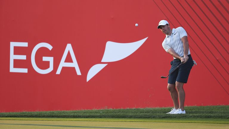 Rory McIlroy making a comeback in Abu Dhabi