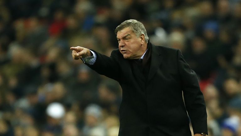 Sam Allardyce was disappointed by the performance from his side