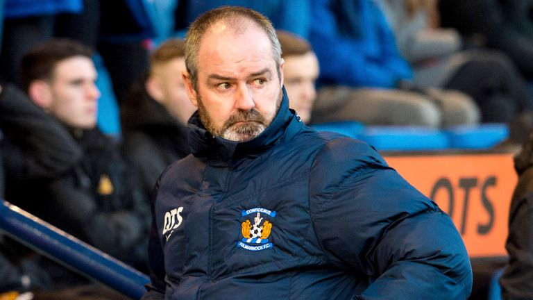 Clarke has taken Kilmarnock from bottom of the Scottish Premiership to fifth