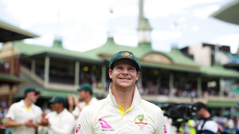 Root praised the amount of runs Steve Smith scored during Australia's Ashes victory - 687 at an average of 137.40