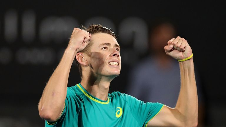 De Minaur looking to do damage