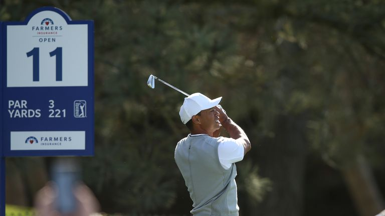 Woods will also look to improve his iron play