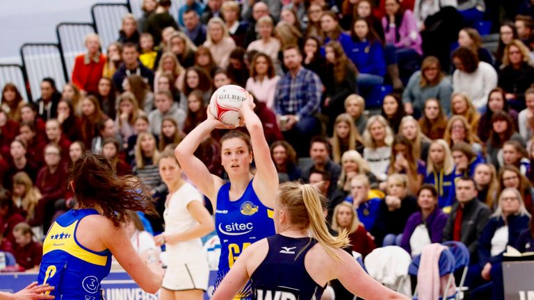Team Bath Netball win tri-tournament against Severn Stars and ...