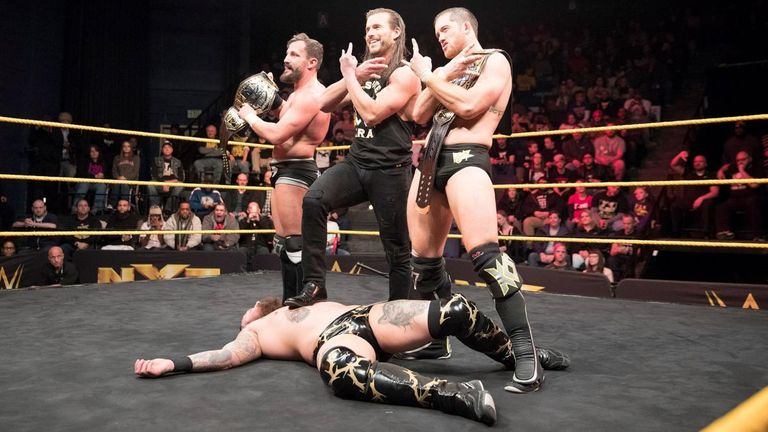 The Undisputed Era may have bitten off more than they can chew in NXT
