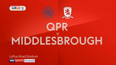 QPR 0-3 Middlesbrough