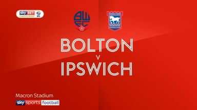 Bolton 1-1 Ipswich