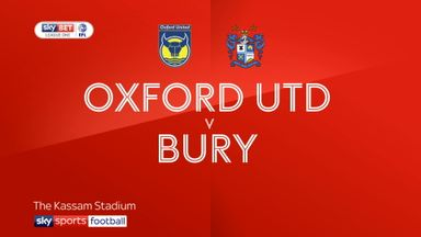 Oxford 1-2 Bury