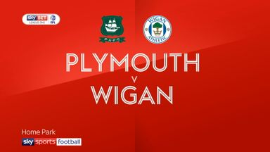 Plymouth 1-3 Wigan