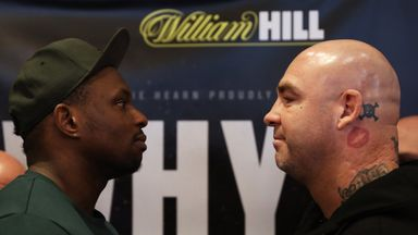 Dillian Whyte faces Lucas Browne at The O2 on March 24, live on Sky Sports