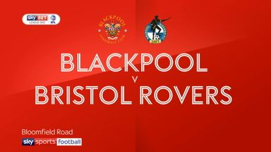 Blackpool 0-0 Bristol Rovers