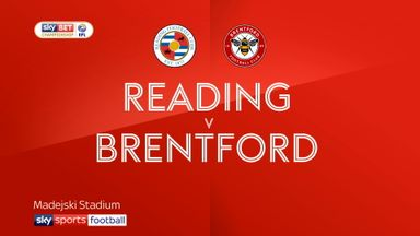 Reading 0-1 Brentford