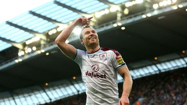 Ashley Barnes is being linked with a call-up to the Austria set-up