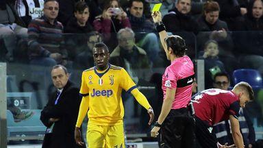 fifa live scores - Juventus midfielder Blaise Matuidi a doubt for Spurs clash