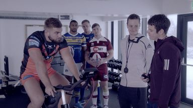 The Brownlee brothers put Super League players through their paces