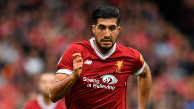 Emre Can will have talks with Liverpool this month over a potential new deal