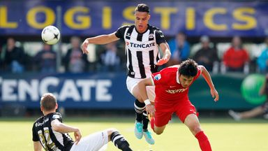 Joey Pelupessy in action for Heracles Almelo