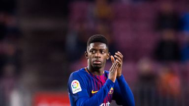 Could Ousmane Dembele move to Ateltico Madrid on loan?