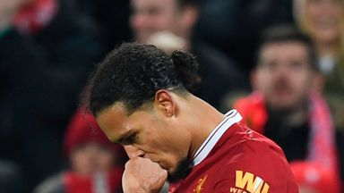 fifa live scores - Liverpool's Virgil van Dijk not concerned by critics following club-record move
