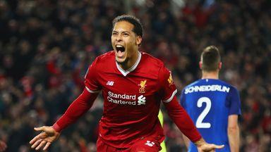 Liverpool paid a club record £75m for Virgil van Dijk